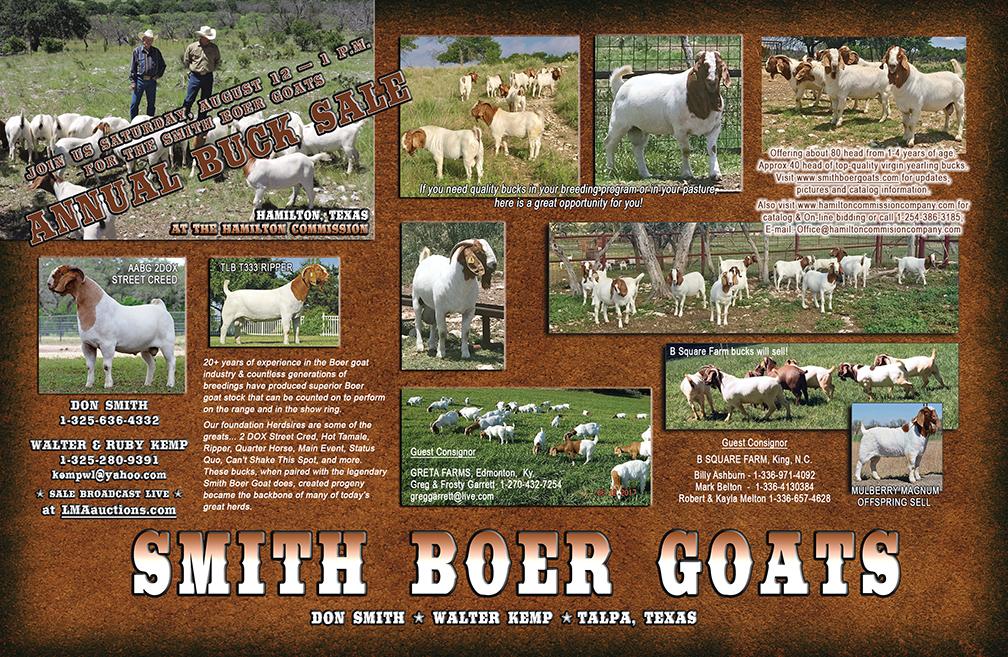 Smith Boer Goats 2017